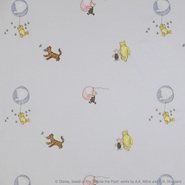 Winnie the Pooh Balloon Embroidery (J644F-02)