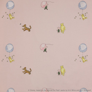 Winnie the Pooh Balloon Embroidery (J644F-03)