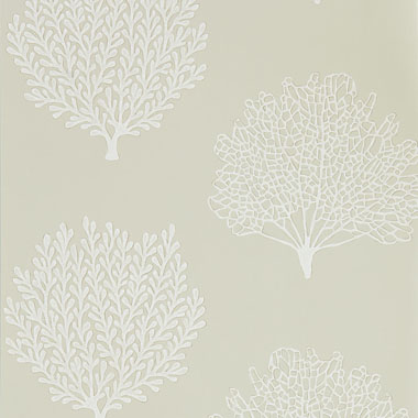 34cb07a37 Coraline is an elegant wallpaper developed from intricate lace-like hand  cut lino prints. Subtle mica highlights nestle within the contours of the  coral ...