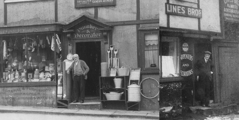 Lines of Pinner 1890s/1930s