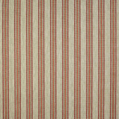 New Red Vertical Strié Effect Textured Cosy Chenille Upholstery Curtains Fabrics