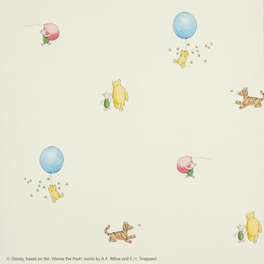 J128w 01 Winnie The Pooh Balloon Jane Churchill Nursery